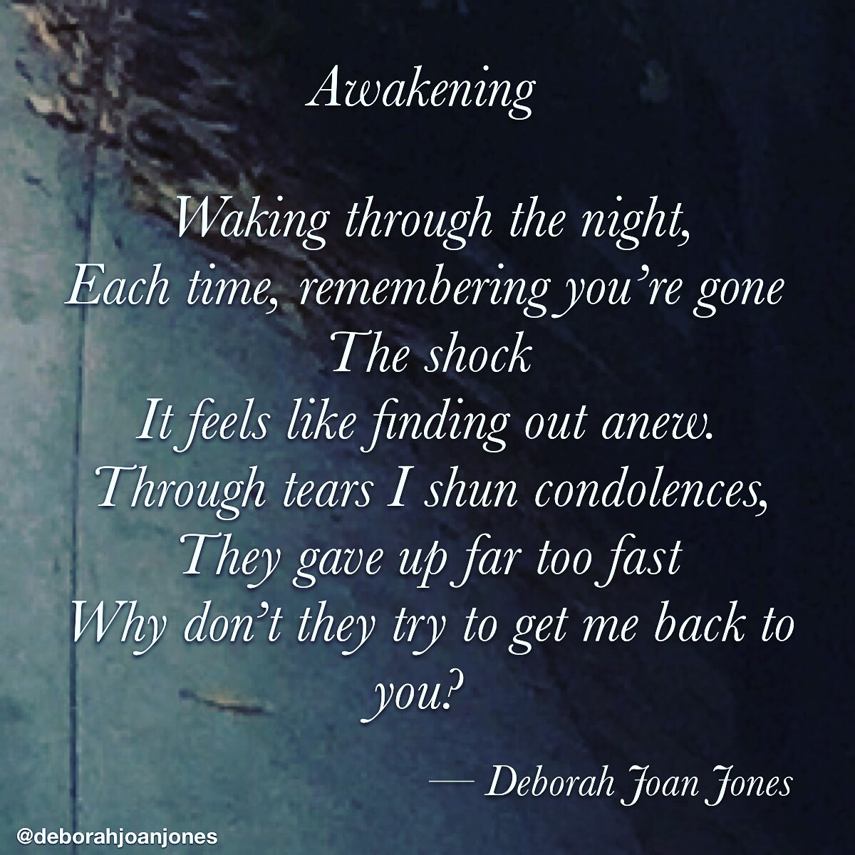 Awakening Deborah Joan Jones