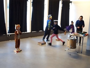 Family Performance at MK Gallery