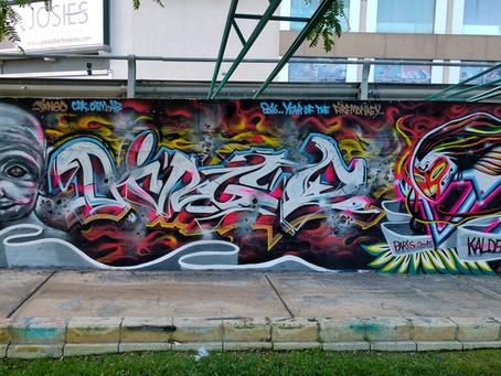 Street art in Malta!