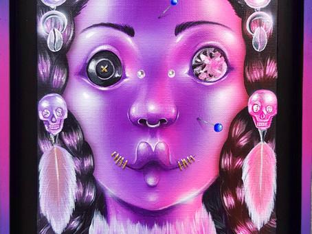 """Exposition """"Frisson""""  la galerie Wawi"""