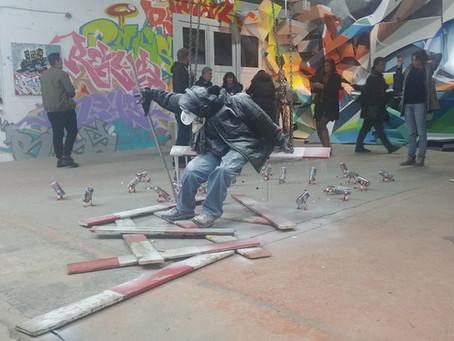 Geneva Propaganda, urban art exhibition in Carouge.