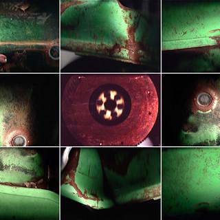 Green Car Flatbed #1