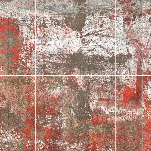 Workshop Floor (Moon Scan #3) 148.7 X 119.9 cms