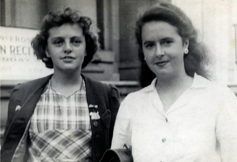 29 Kathleen and Constance. c. 1948-2009.
