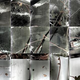 Windscreen (Flatbed  Suburbia #11) 105 X 90 cms