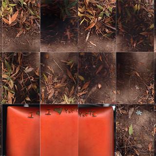 Orange Seat (Flatbed  Suburbia # 2) 168 X 90 cms