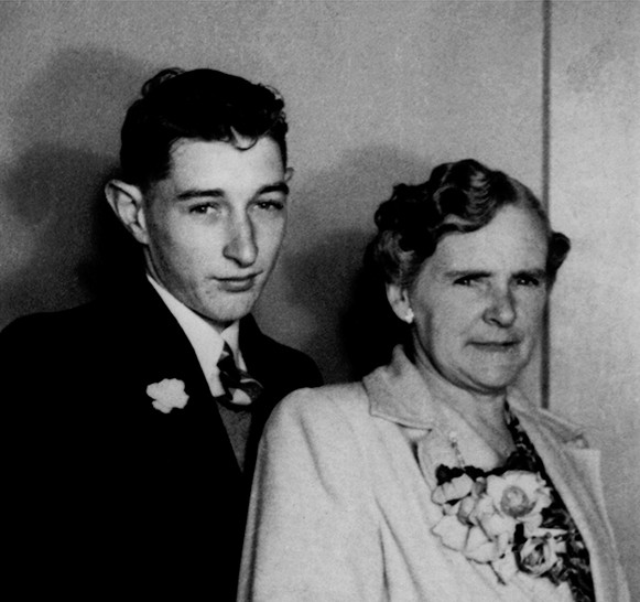 4 Grandmother and son. c. 1940s-2008.jpg