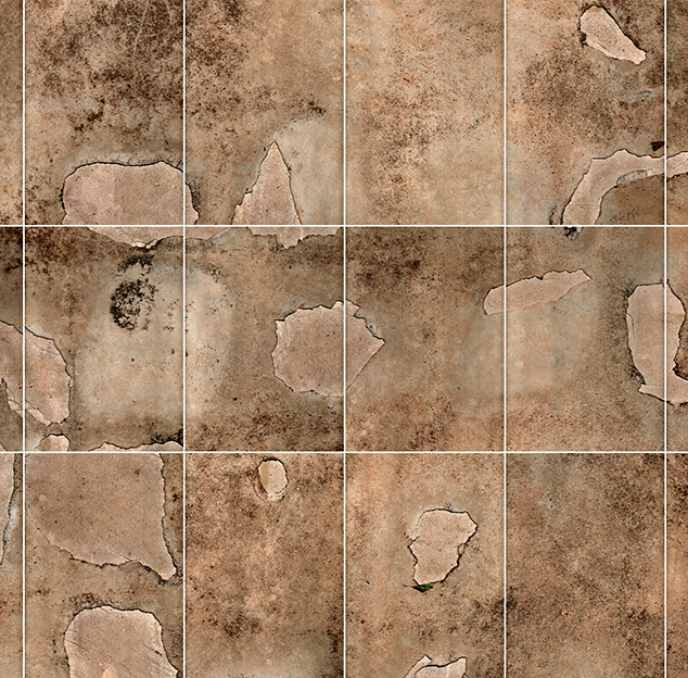 Orroral Floor (Moon Scan #2)  169.4 X 89.5 cms