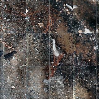 Burnmark (Flatbed Suburbia #10) 130 X 90 cms