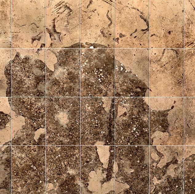 Beneath the Controlroom  (Moon Scan # 6) 148.7 X 119.9 cms