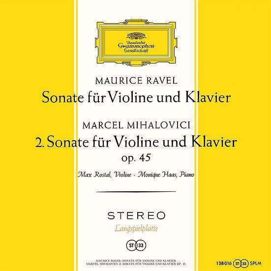 MAX ROSTAL / Ravel: Sonate für Violine und Klavier