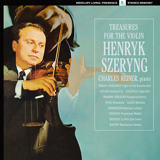 HENRYK SZERYNG / Treasures for the Violin