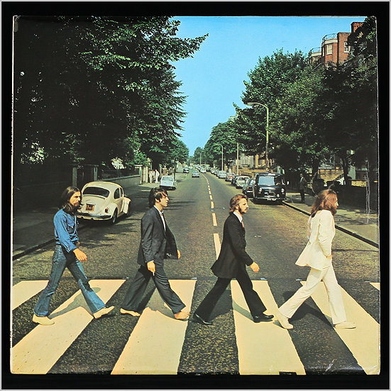 THE BEATLES / Abbey Road (Factory Sample)