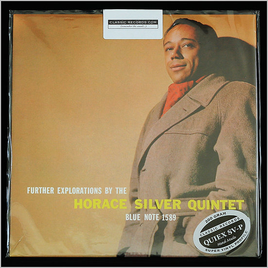 THE HORACE SILVER QUINTET / Further Explorations (Classic Records)