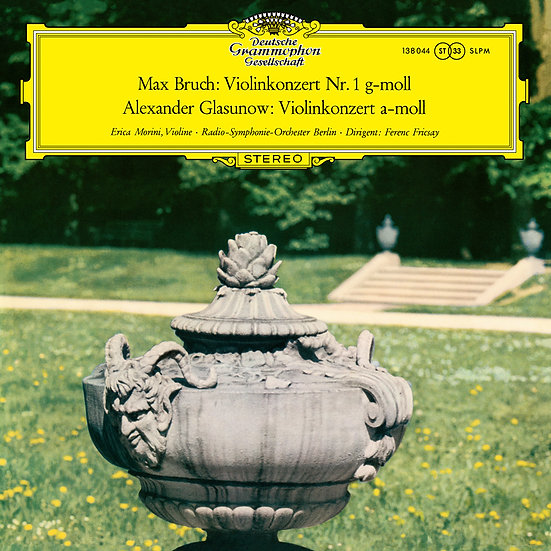 ERICA MORINI / Bruch: Violin Concerto No.1