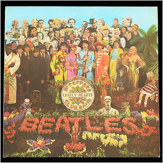 THE BEATLES / Sgt. Pepper's Lonely Hearts Club Band