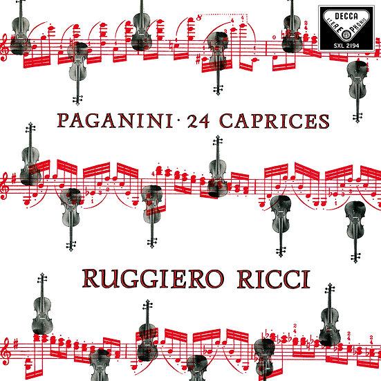 RUGGIERO RICCI / Paganini: 24 Caprices (2LP)