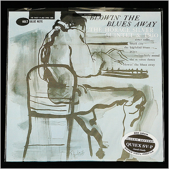 THE HORACE SILVER QUINTET / Blowin' the Blues Away (Classic Records)