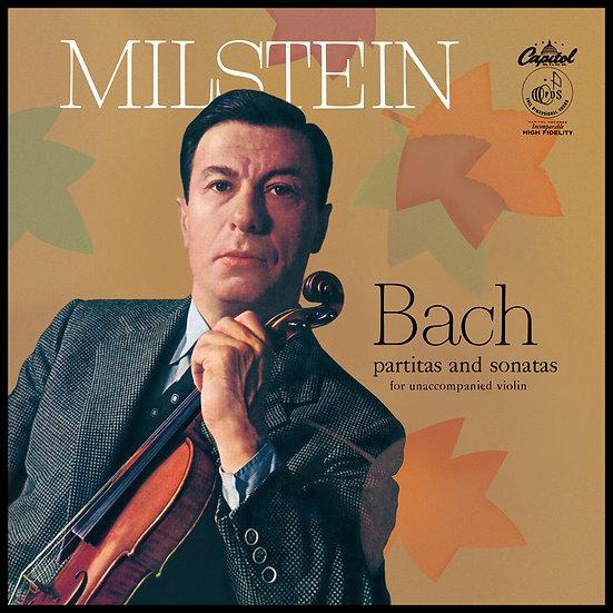 NATHAN MILSTEIN / Bach: Partitas and Sonatas for Unaccompanied Violin (3LP Box)