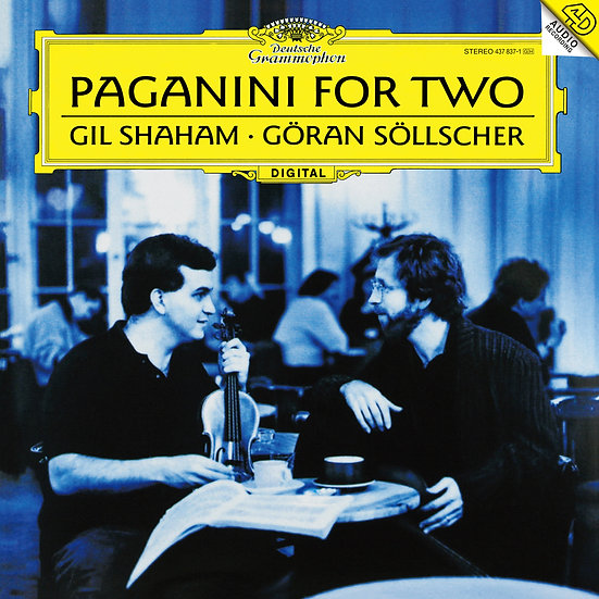 GIL SHAHAM, GÖRAN SÖLLSCHER / Paganini for Two
