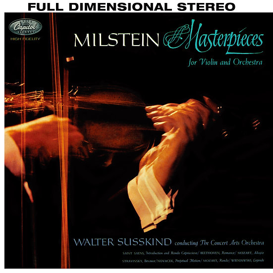 NATHAN MILSTEIN / Masterpieces for Violin and Orchestra