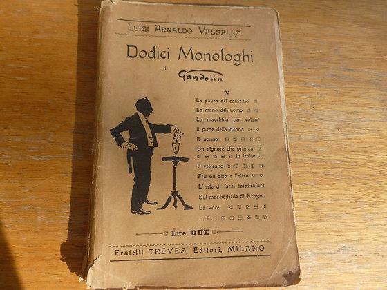 L. A. Vassallo - Dodici monologhi di Gandolin- 1910