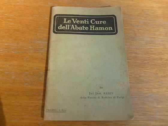 Dott. Sabin - Le venti cure dell'Abate Hamon - 1920-30(?)