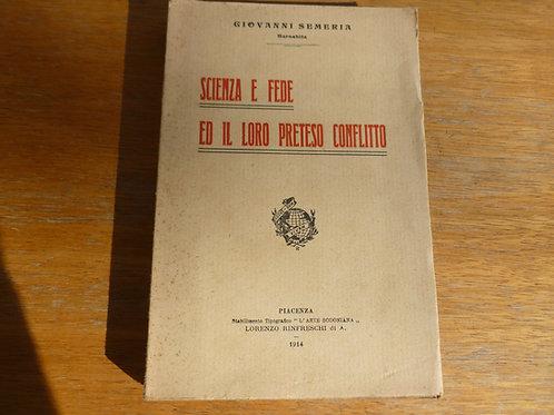 G. Semeria - Scienza e fede - 1914
