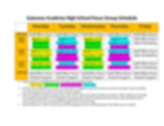 HS Learning Group Schedule Parents-Stude