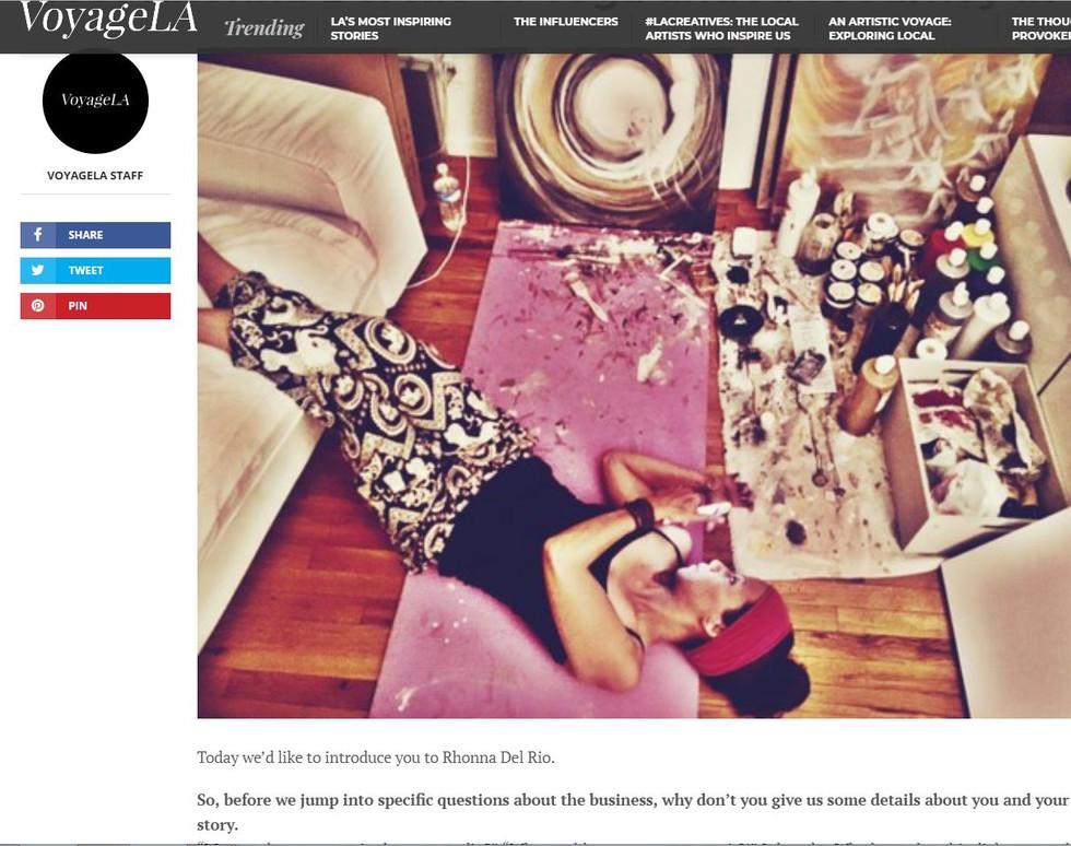 VoyageLA magazine article