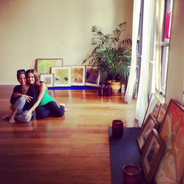 2012-2016 resident artist,  yoga studio