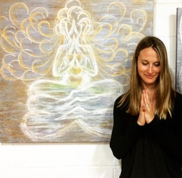 yoga teacher, brittany rouse