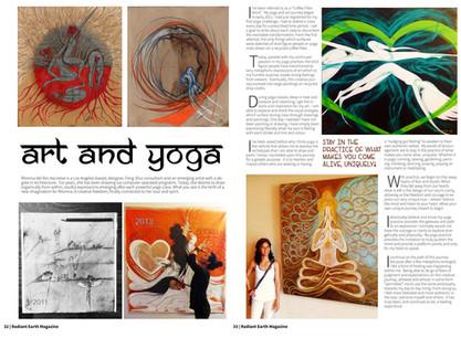 radiantearth magazine  - article