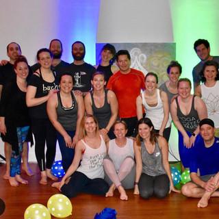 first year anniversary of NOW yoga, portland, oregon