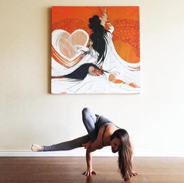 yoga teacher, laurel erilane