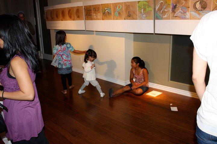 first most memorable art opening - yoga vista