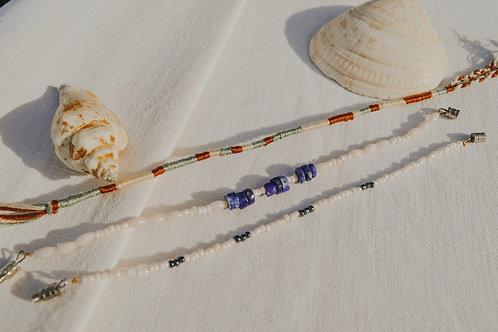 Trio de bracelets - Deep Blue
