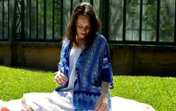 Kimono Blue water