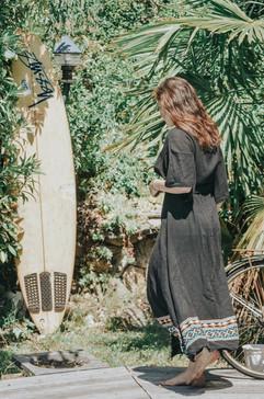 Robe Black Summer
