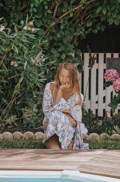 La robe kimono Pastel Ocean Life
