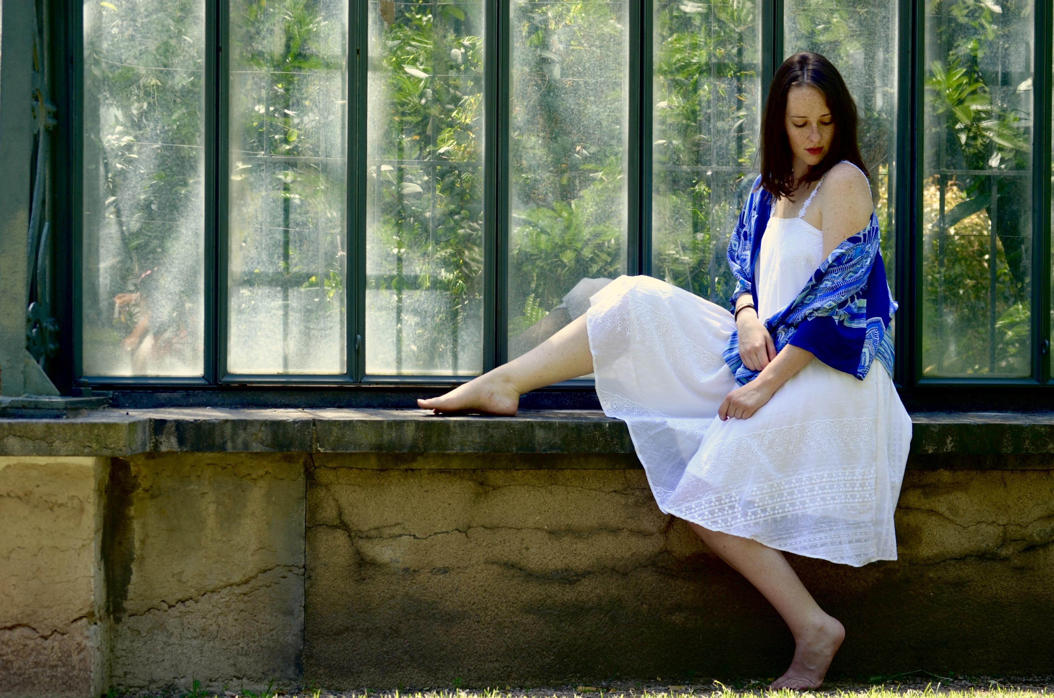 Kimonos blue water
