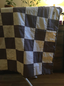 Hand Stitched Chess Quilt