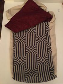 Large Sling bag with adjustable tie strap
