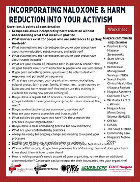 Incorporating Naloxone & harm reduction into your activism Handout.png