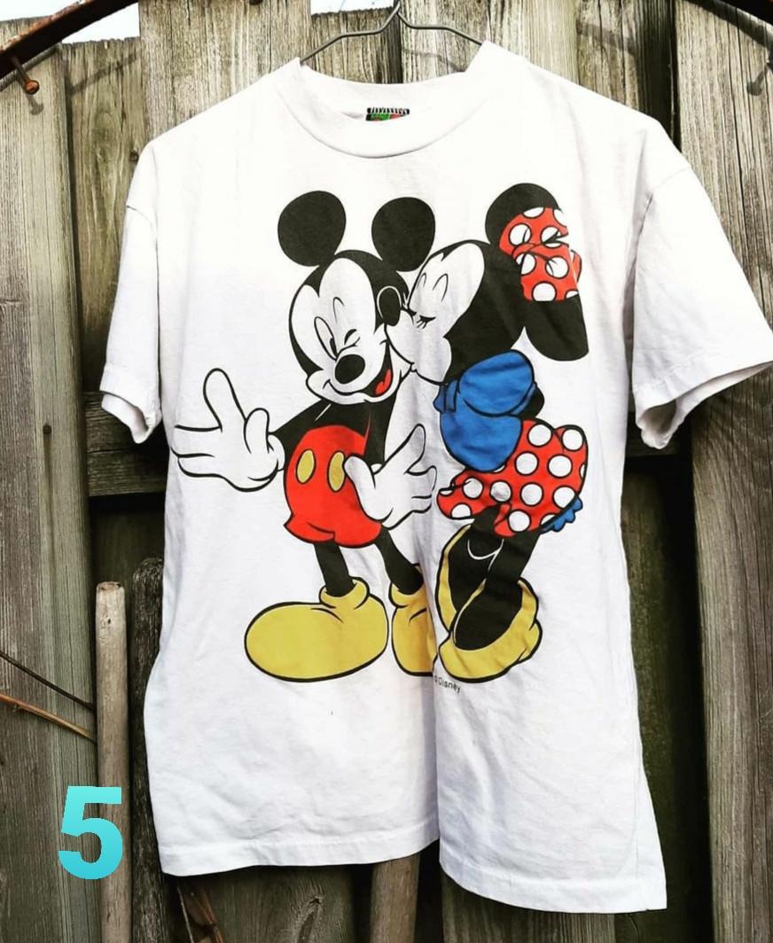 Vintage Mickey & Minnie 90s tshirt