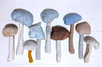 Textile Mushrooms
