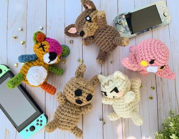 Custom Crochet Amiibo Plush