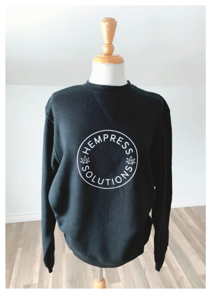 Hemp & Organic Cotton Logo Sweatshirt