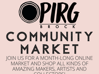 OPIRG Brock Community Market - September