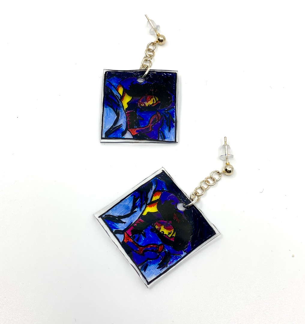 Melodrama Album Earrings